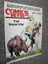 COMICS REVUE # 105 1995 PHANTOM KRAZY KAT FLASH GORDON TARZAN MAGAZINE