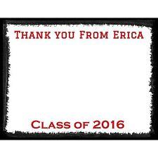 20 Graduation Thank You Cards  - High School Graduation - College Graduation