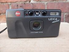 vtg LEICA MiNi 35mm FILM CAMERA with Elmar 35/f3.5 lens and date back
