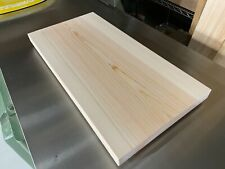 Japanese cypress HINOKI wooden large cutting board from YOSHINO JAPAN  No,30