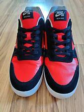 Nike SB Zoom Delta Force Vulc Slate Shoes Red Black Men's 942237-006 Size 13