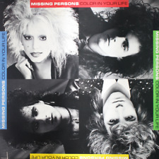 MISSING PERSONS - Color In Your Life - BRAND NEW SEALED 1986 RECORD 1980s Pop LP