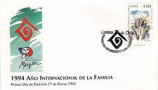 Chile 1994 FDC Año Internacional de la Familia