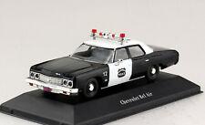 Chevy Chevrolet Bel Air Polizei 1973 1:43 Atlas Modellauto 03