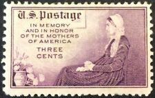 1934 3c Mothers commemorative Single, Scott #737, MH, F-VF