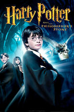 """HARRY POTTER PHILOSOPHERS STONE A3 CANVAS PRINT POSTER FRAMED 16.5"""" x 11.7"""""""