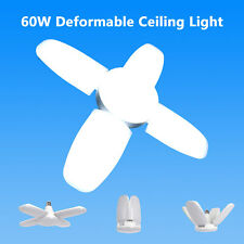 60W 5400lm E27 LED Garage Shop Work Lights Ceiling Fixture Energy Saving Light