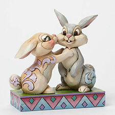 Enesco Disney Collectible Jim Shore Figurine  – Thumper & Miss Bunny 4043667