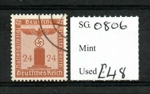 Germany 1942 Party Official 24pfg SGO806 used SG cv £48