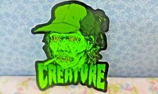 Creature, Drunken Head Sticker, Decal, Very Rare Run, Awesomely Cool! 4""