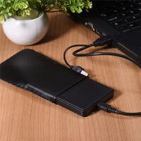 "USB 2.5"" HD Hard Drive HDD Disk SATA External Enclosure Case Cover Box for PC"