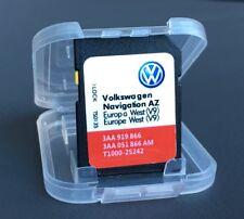 VW Volkswagen RNS315 SD CARD V9 SAT NAV Mappa di navigazione Update 2018 UK ed Europa