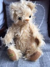 Rare Merrythought Limited Edition Of 500 Ragamuffin Yes/no Bear