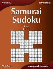 Samurai Sudoku - Easy - Volume 2 - 159 Puzzles by Nick Snels (2014,...