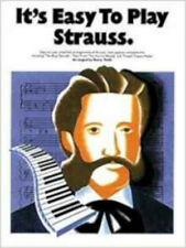 It's Easy To Play Strauss, New, Johann Strauss II Book