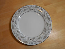 "Noritake China DORANNE 5505 Dinner Plate 10 1/2"" 1 ea Grey Brown    6 available"
