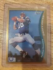 New listing 1998 Topps Chrome Peyton Manning Indianapolis Colts #165 Football Card