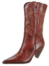 Charlie 1 Horse by Lucchese Womens Western Cowboy Boots Size 10B Red Leather