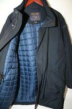 #281 WOOLRICH Men's Blue Polyester Blend Parka Coat Size XXL