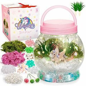 Gifts for 6 7 8 9 10 Year Old Girls, Art and Craft Kits for Kids Night Light Toy