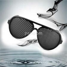 Anti-fatigue Pinhole Glasses Stenopeic Vision Improver Eyesight Car Sunglasses