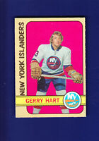 Gerry Hart RC 1972-73 O-PEE-CHEE OPC Hockey #139 (EXMT) New York Islanders