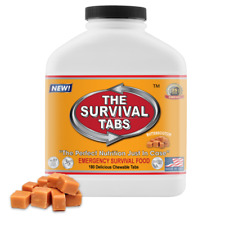 Emergency  food  180 tablets - 15 days quality protient  supply  butterscotch