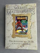 MARVEL MASTERWORKS VOL 27 AVENGERS 21-30 VO EXCELLENT ETAT / NEAR MINT