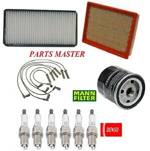 Tune Up Kit Air Oil Filters Spark Plugs Wire For PONTIAC MONTANA V6; 3.5L 2006