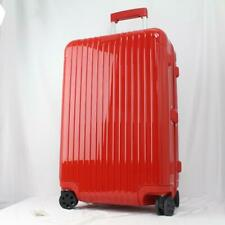 RIMOWA ESSENTIAL CHECK-IN M  MULTIWHEEL HARDSIDE SPINNER SUITCASE ORIENT RED