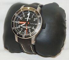 NEW Fortis 658.27.81 L.01 B-42 Official Cosmonauts Titanium Mens Black Watch 200