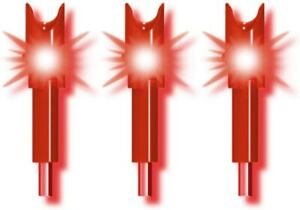 TenPoint Alpha-Brite Lighted Nock, 3 Pack (Red)