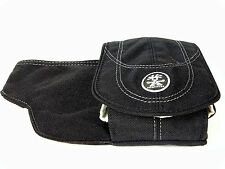 "NEW Crumpler ""The B.B"" (Medium) Belt Pouch for Gadgets (Black) - Brilliant!"