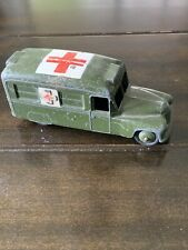 Dinky Toys Military Army Daimler Ambulance #624 Condition Is Used
