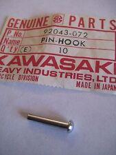 KAWASAKI H2/H1/S2 FUEL TANK CAP HOOK PIN NOS!