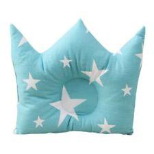 Baby Kissen Krone Blau Sterne Anti Kopfverformung Lagerungskissen Babykissen