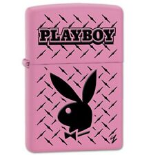 More details for zippo genuine refillable cigarette lighter playboy #11 new with box rare pink