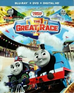 Thomas and Friends: The Great Race (2 Disc, Blu-ray + DVD) BLU-RAY NEW