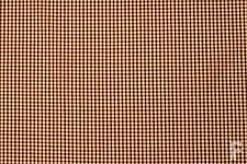 GINGHAM POLYCOTTON FABRIC (CORDED) - 1/8 INCH SQUARE CHECK - WIDTH 114 CM