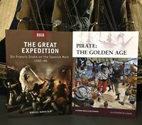 2 ILLUSTRATED OSPREY SCS *1) THE SPANISH MAIN 1585-86 *2) PIRATE: THE GOLDEN AGE