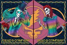 Dead & Company Nassau Coliseum Exclusive VIP Gig Print Limited Edition FOIL Set