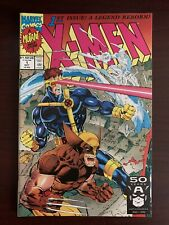 Marvel Comics X-Men #1 Cyclops Wolverine Cover VF+ NM 1991 White Pages