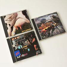 AEROSMITH - GET A GRIP, BOSTON - WALK ON & REO SPEEDWAGON - HI INFIDELITY 3 x CD