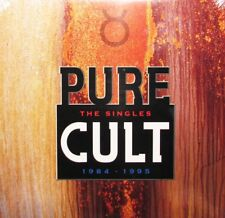 The Cult PURE CULT: THE SINGLES Best Of 19 Songs GATEFOLD New Sealed Vinyl 2 LP