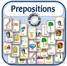 PREPOSITIONS POSTERS EYFS KS1 SEN primary teaching resource display set on CD