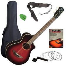 Yamaha APXT2 3/4 Acoustic-Electric Guitar - Red Burst GUITAR ESSENTIALS BUNDLE
