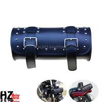 PU Leather Saddlebag Luggage Tool Bag for Yamaha Royal Star Raider Virago Vmax