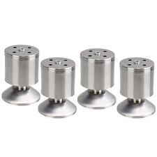 Pieds 4Pcs 80MM métalliques Meubles Armoire Table Cabinet Canapé d'angle Legs