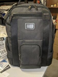 Tumi Hedrick Deluxe Brief Pack Business Laptop Backpack Grey