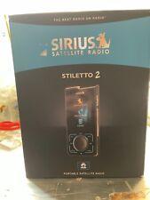 New ListingActivated Sirius Stiletto 2 Portable Satellite Radio (Sl2) Receiver Kit Sl2Pk1